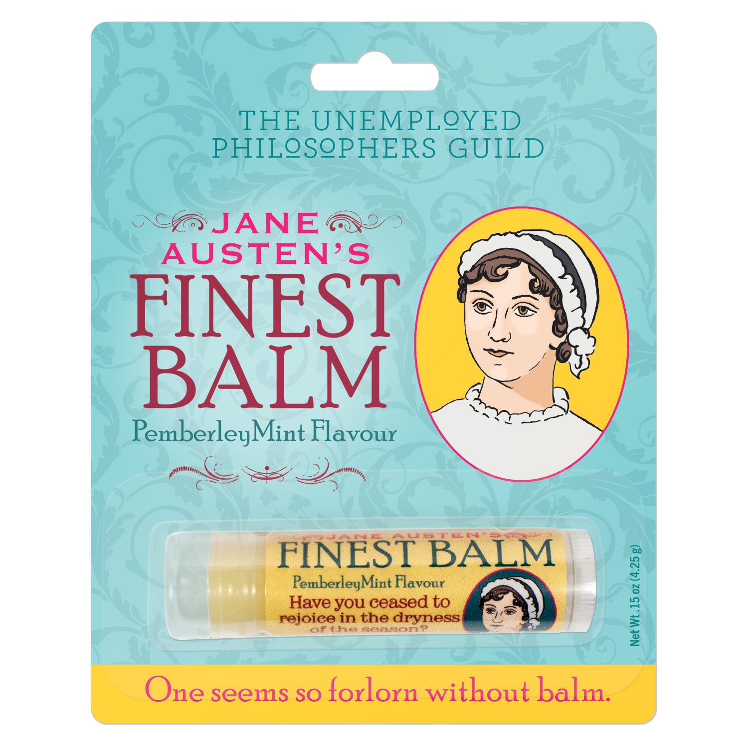 Austen Lip Balm - The Unemployed Philosophers Guild