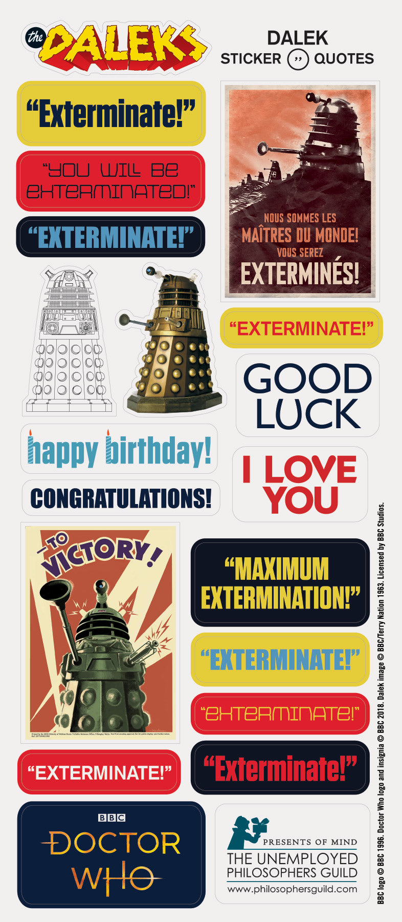 Dalek Quotable Notable