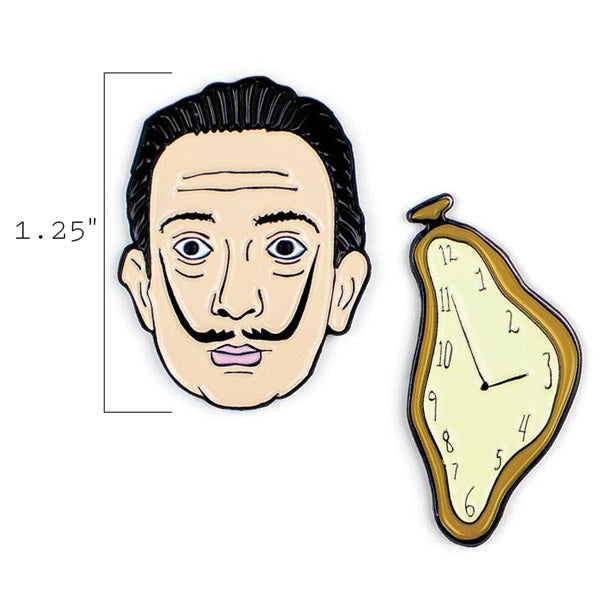 Dalí & Watch Pins - The Unemployed Philosophers Guild