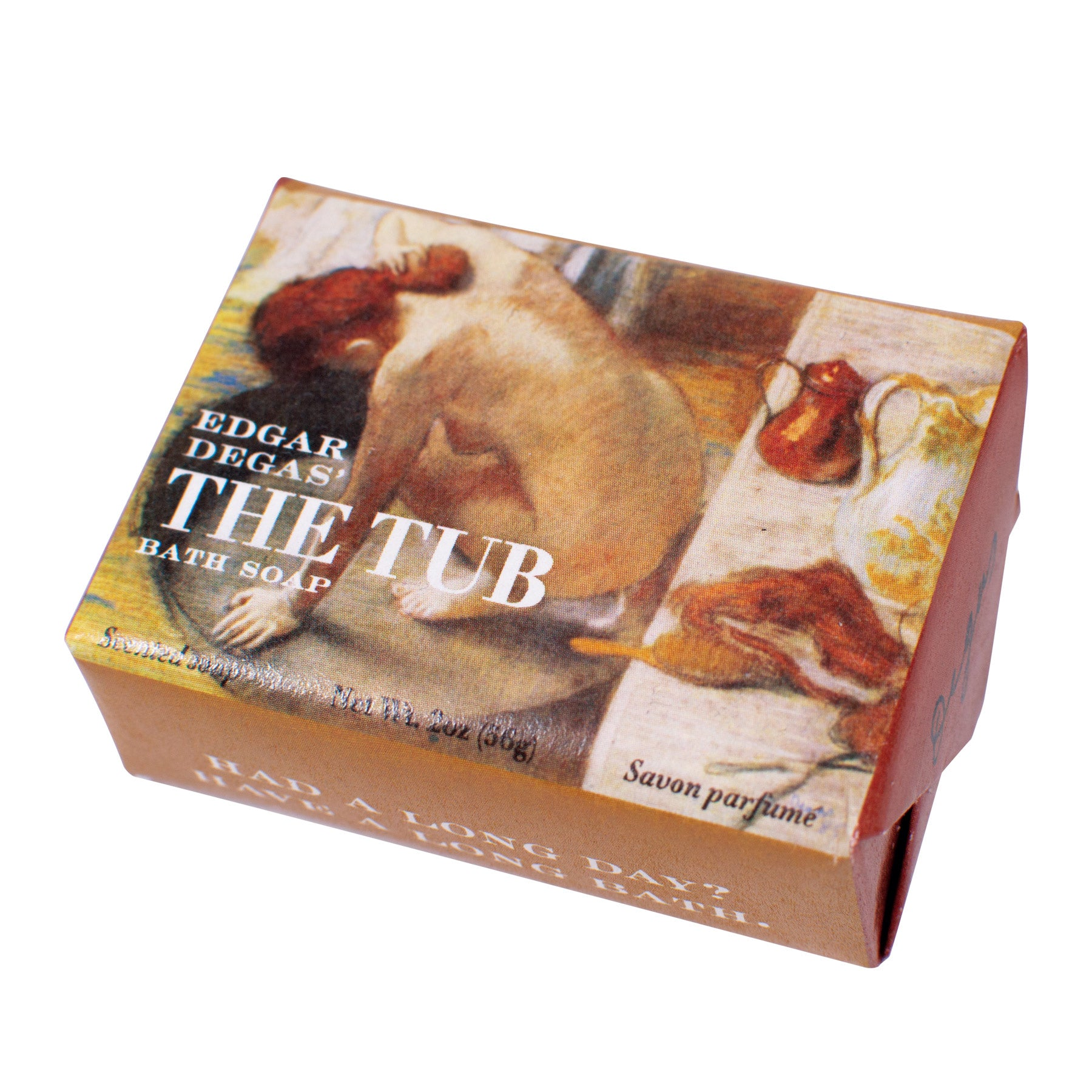 Edgar Degas' The Tub Bath Soap