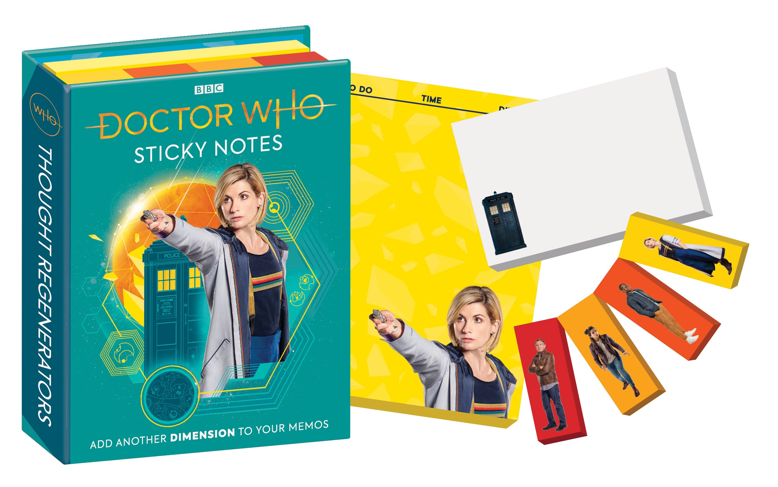 Doctor Who Sticky Note Booklet