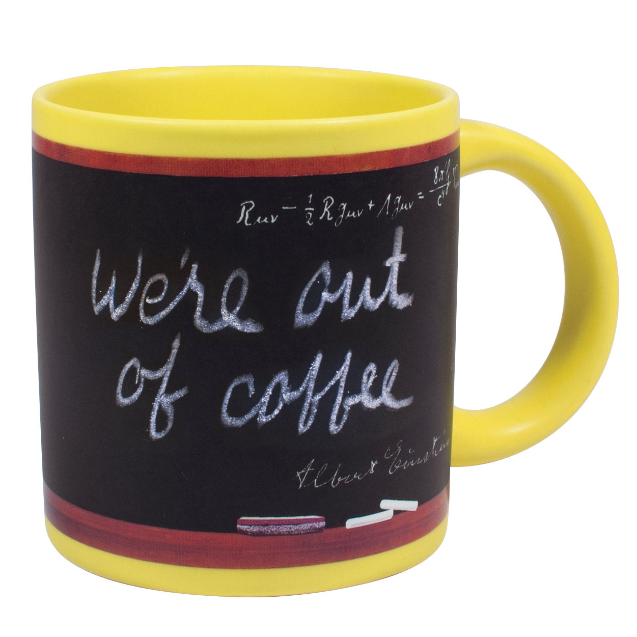 Einstein's Blackboard Mug - The Unemployed Philosophers Guild