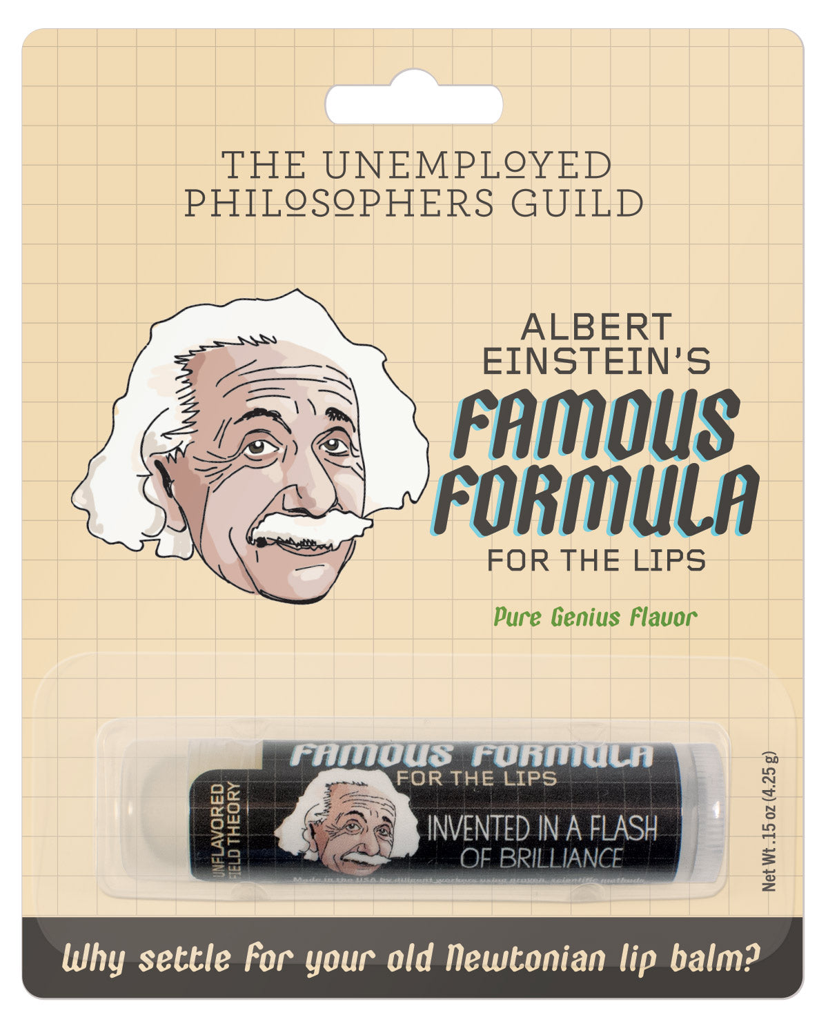 Einstein's Lip Balm - The Unemployed Philosophers Guild
