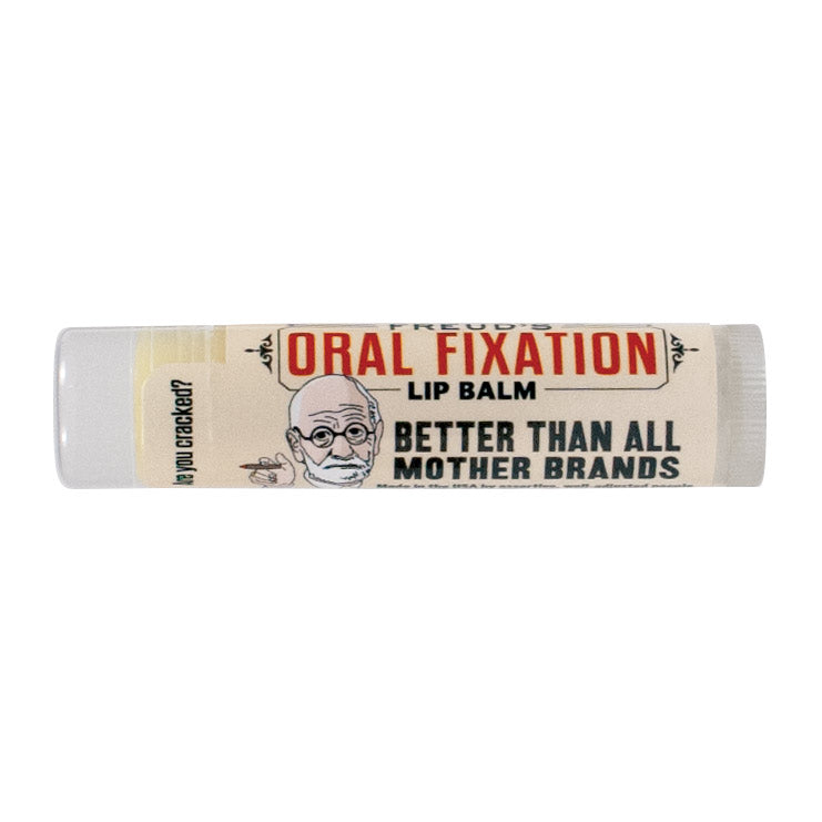 Freud's Oral Fixation Lip Balm - The Unemployed Philosophers Guild