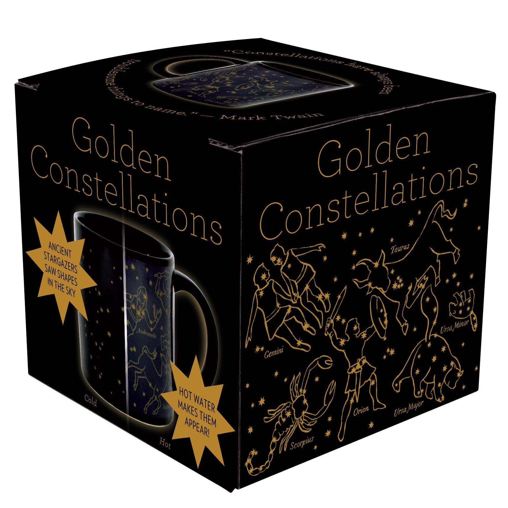 Golden Constellations Mug - The Unemployed Philosophers Guild