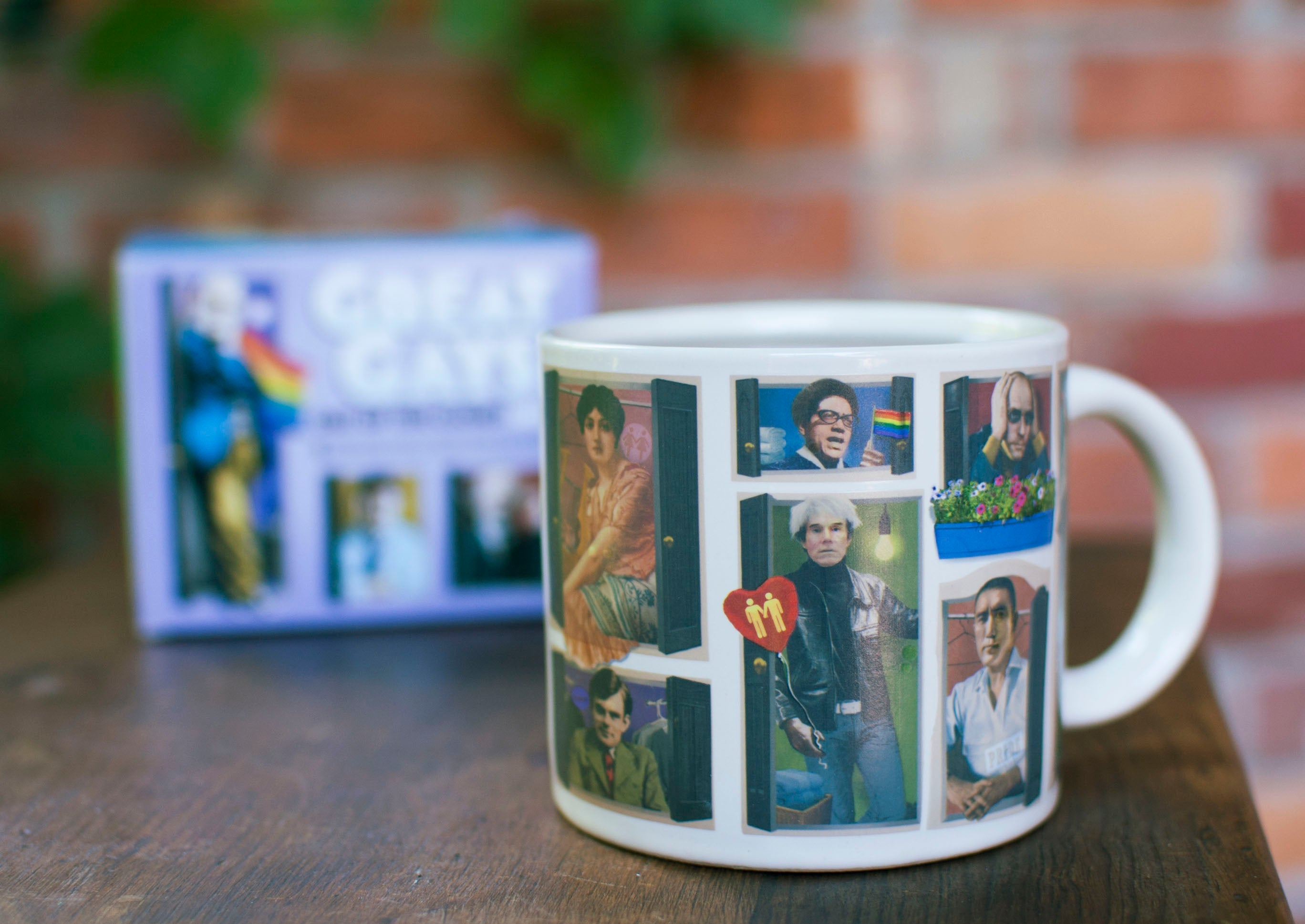 Gays Mug - The Unemployed Philosophers Guild