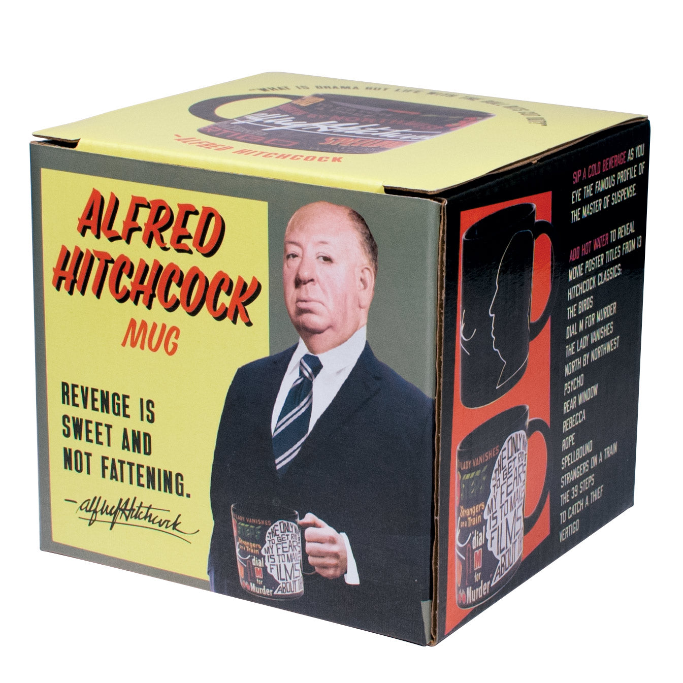 Alfred Hitchcock Mug - The Unemployed Philosophers Guild