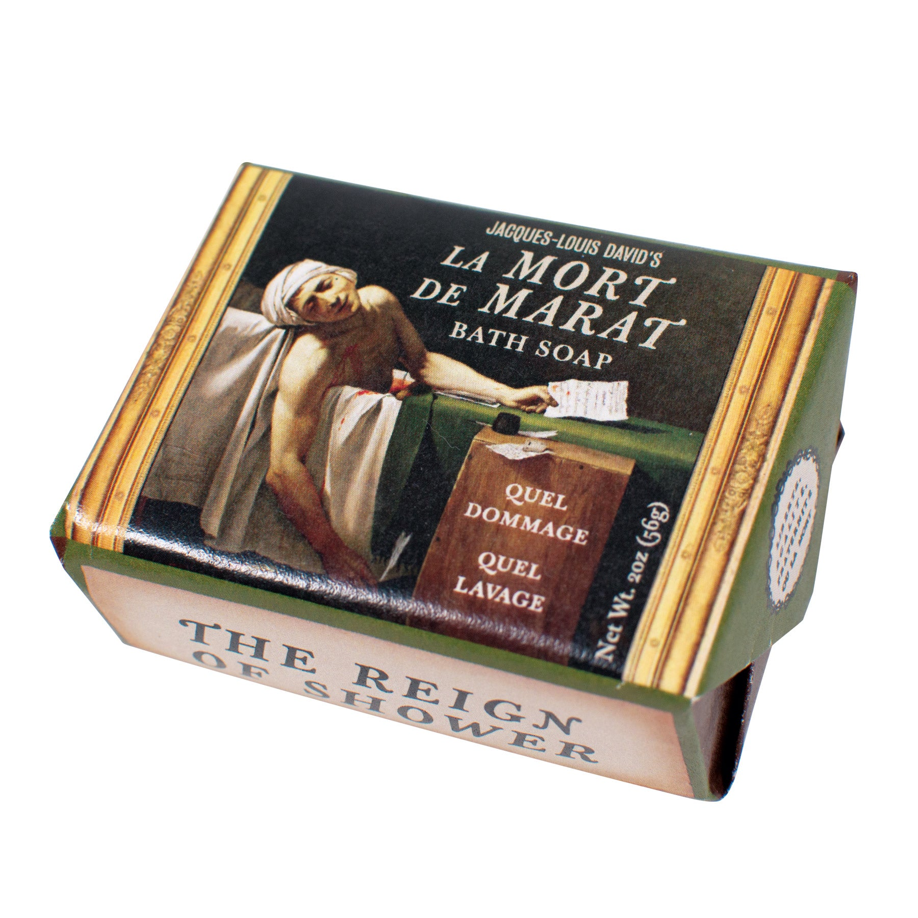 Jacques-Louis David's La Mort de Marat Bath Soap