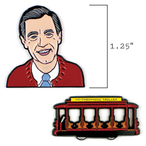 Mister Rogers & Trolley Pins - The Unemployed Philosophers Guild