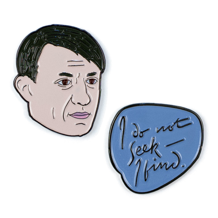Picasso and Quote Pin Set - The Unemployed Philosophers Guild