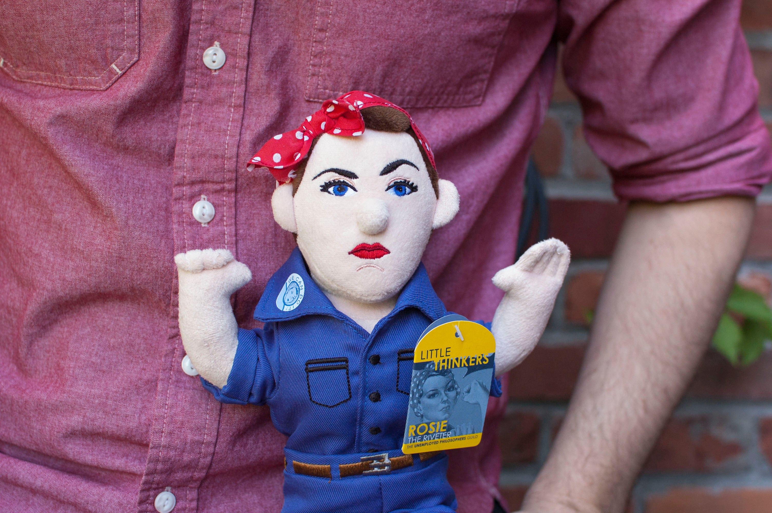 Rosie the Riveter Little Thinker - The Unemployed Philosophers Guild