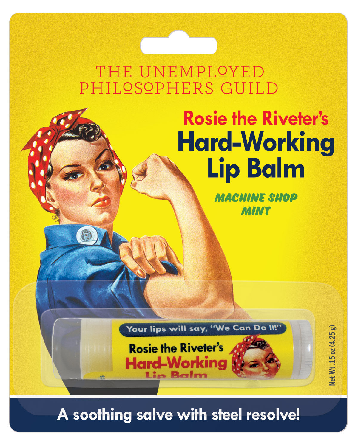 Rosie Lip Balm - The Unemployed Philosophers Guild
