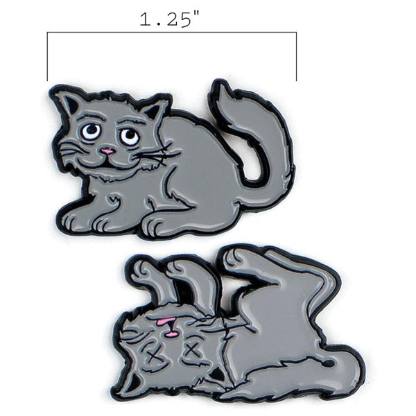 Schr̦dinger's Cat Pins - The Unemployed Philosophers Guild