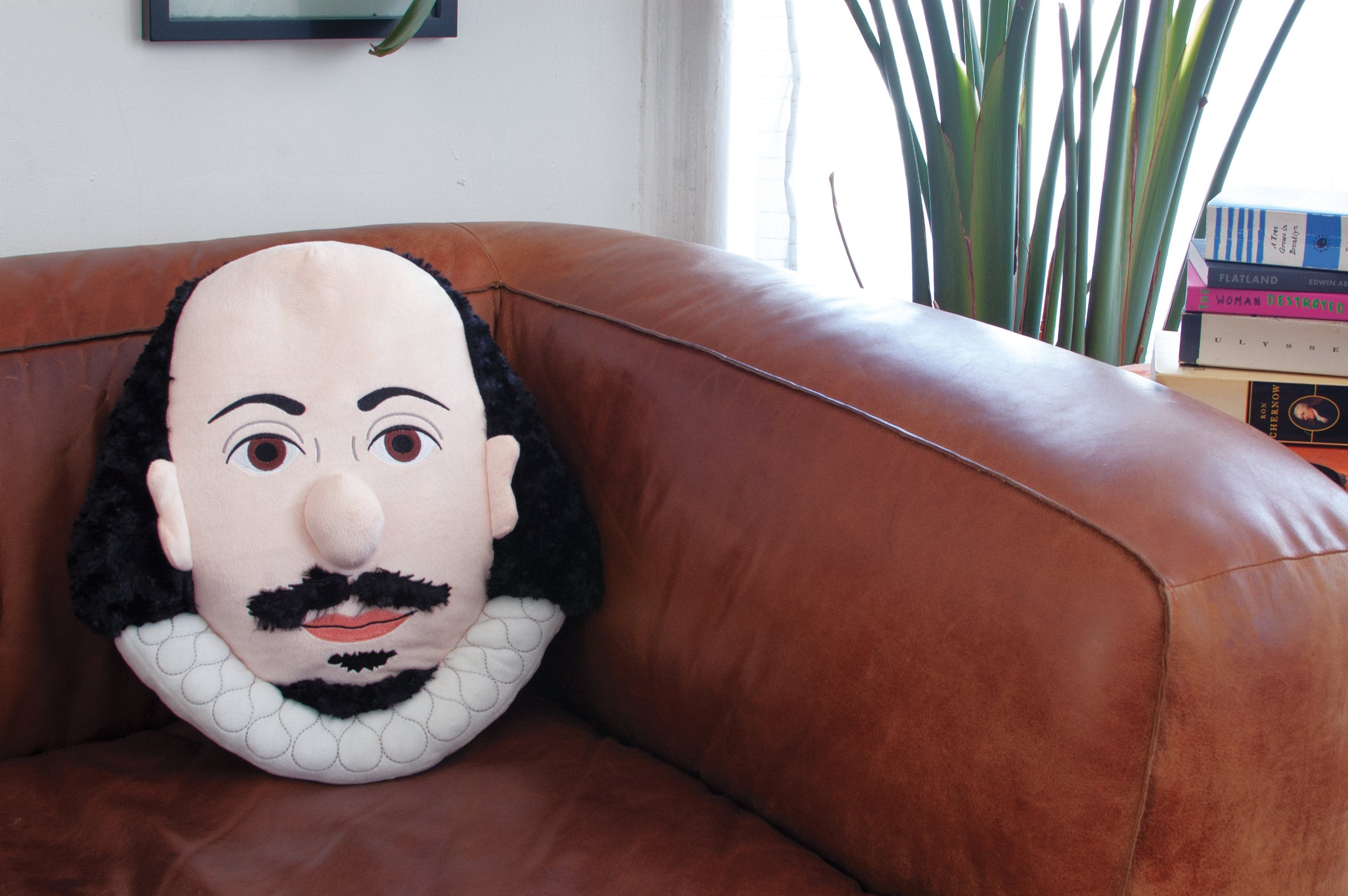 Shakespeare Stuffed Portrait