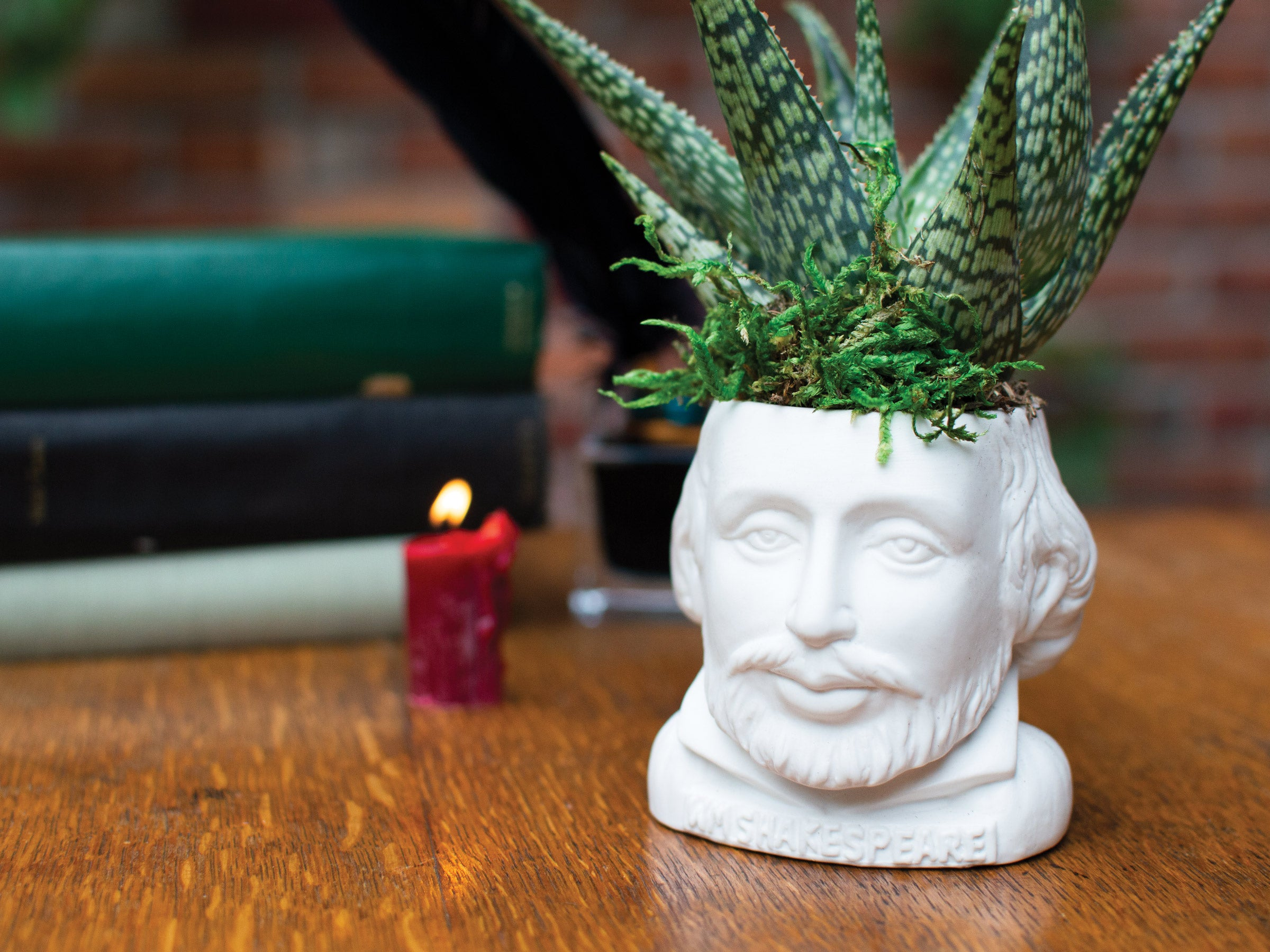 William Shakespeare Planter