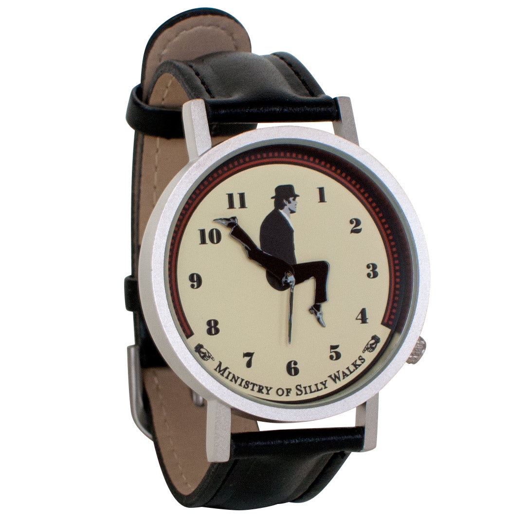 Ministry of Silly Walks Watch (Python)