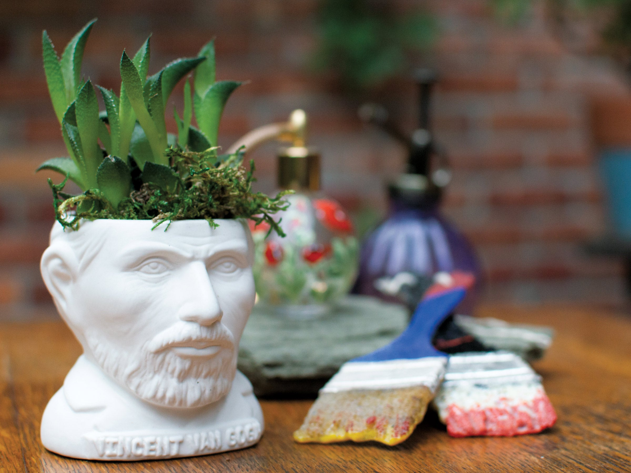 Vincent Van Gogh Planter