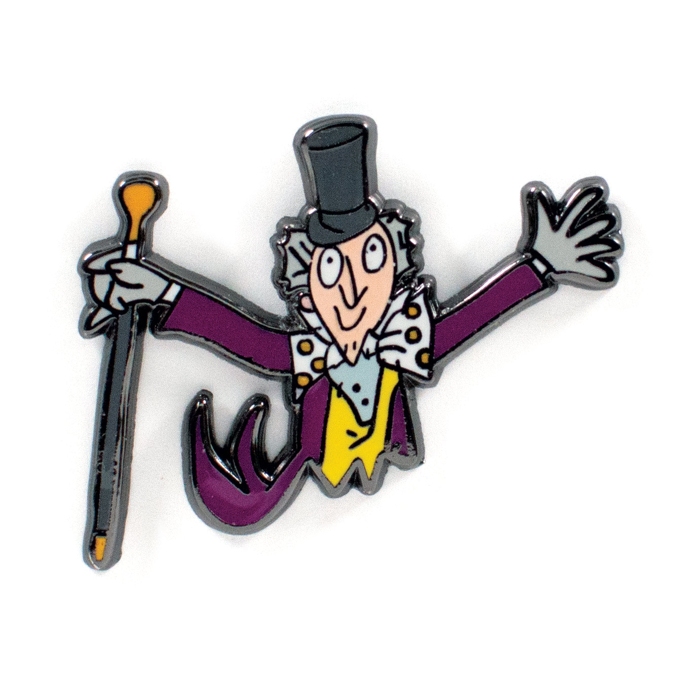 Willy Wonka Pin Set