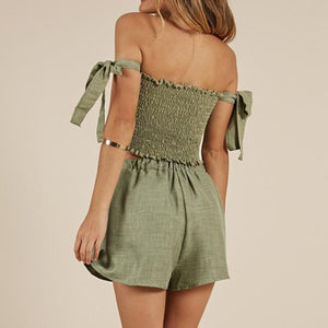 The Shelby Green 2 Piece Set