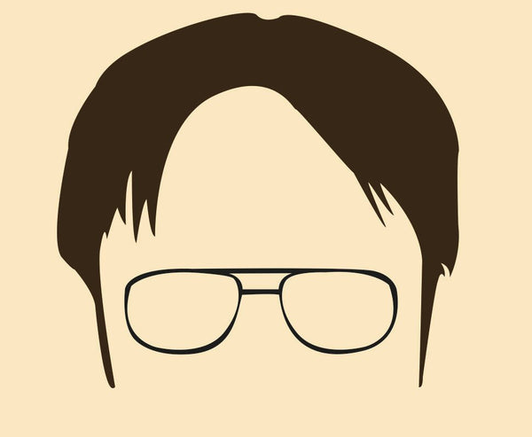 The Office - Dwight Shrute Bears Beets Battlestar Galactica Quote Minimal Style Poster Print