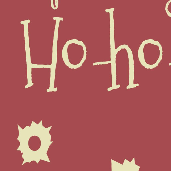 Die Hard - Now I have a machine gun ho ho ho Quote Minimal Christmas Card