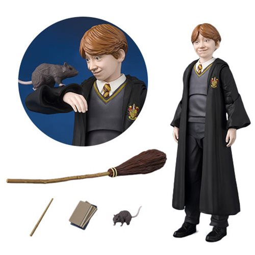Harry Potter and the Sorcerer's Stone Ron Weasley SH Figuarts Action Figure Pre Order