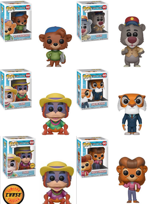 Tailspin 6 pop bundle with chase
