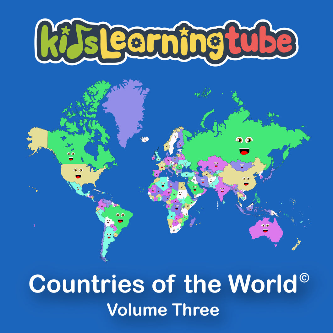 Countries of the World - Volume III Digital Album