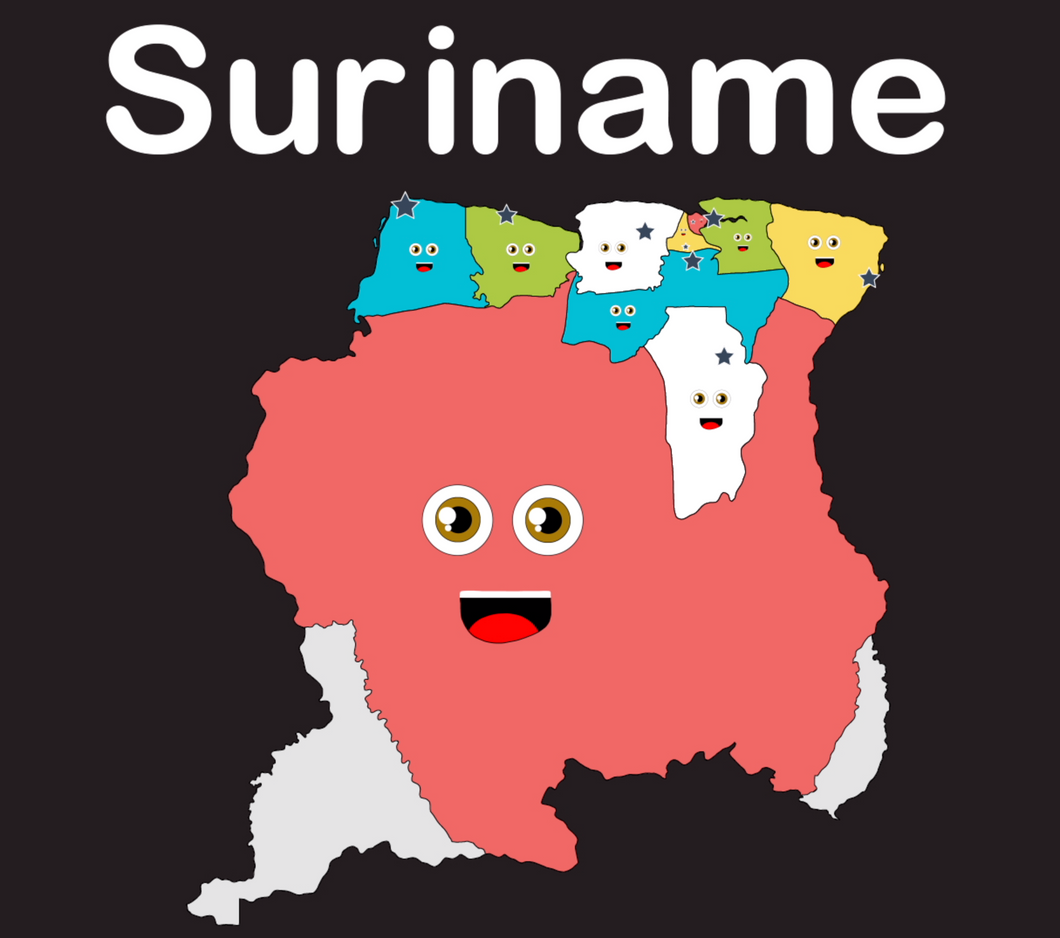Suriname Coloring Sheet
