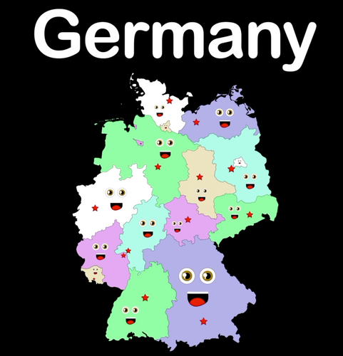 Germany Coloring Sheet