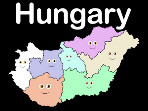 Hungary Coloring Sheet