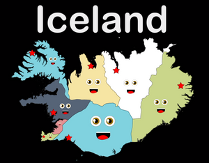 Iceland Coloring Sheet