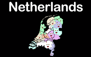 Netherlands Coloring Sheet