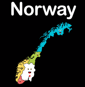 Norway Coloring Sheet
