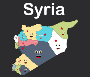 Syria Coloring Sheet