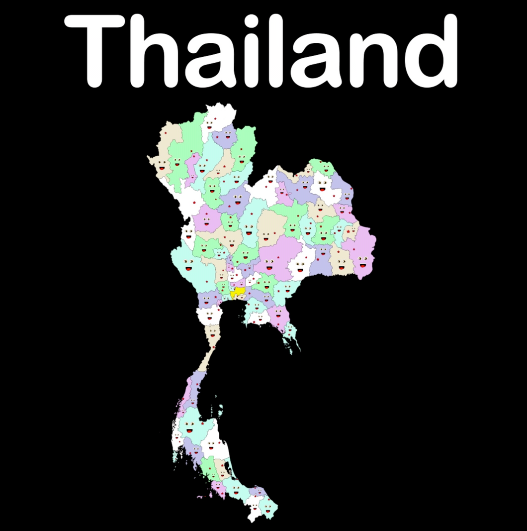 Thailand Coloring Sheet