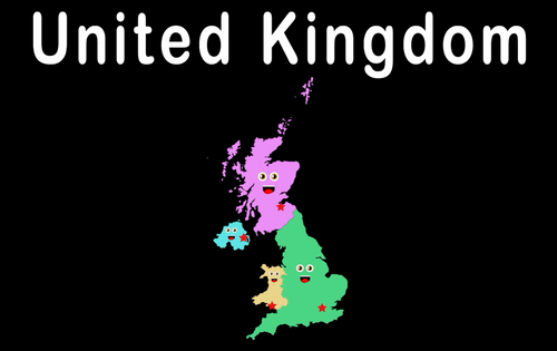 United Kingdom Coloring Sheet