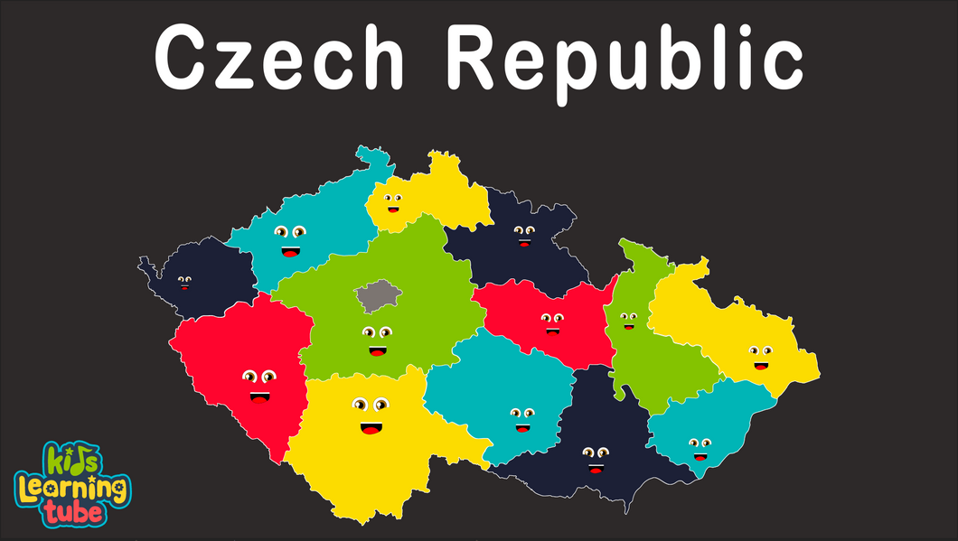 Czech Republic Coloring Sheet