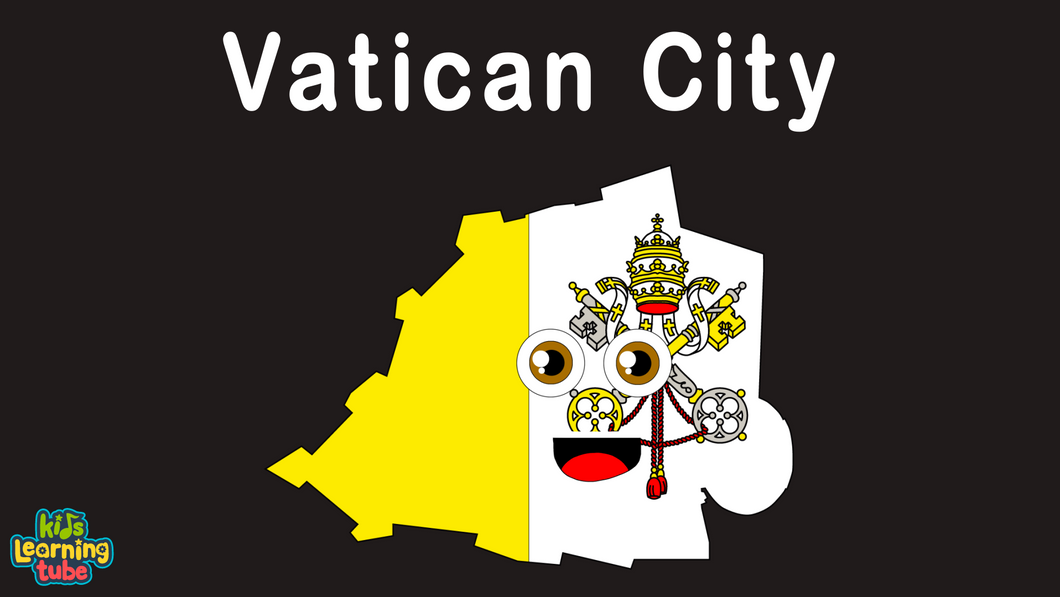 Vatican City Coloring Sheet