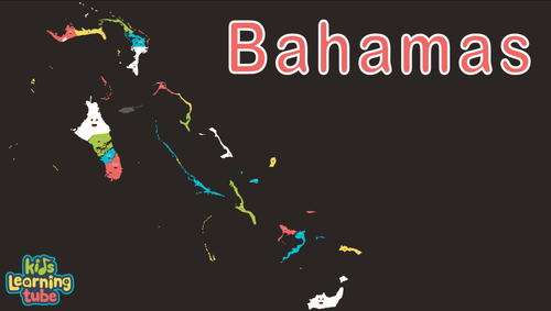 Bahamas Coloring Sheet