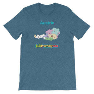 'Austria' Adult Unisex Short Sleeve T-Shirt