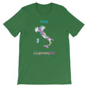 'Italy' Adult Unisex Short Sleeve T-Shirt