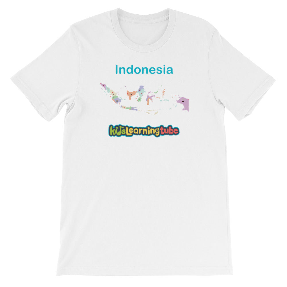 'Indonesia' Adult Unisex Short Sleeve T-Shirt