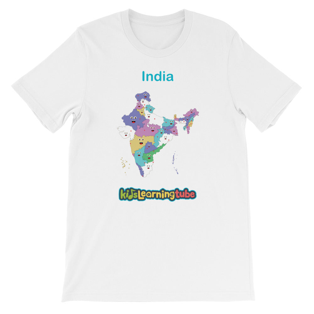 'India' Adult Unisex Short Sleeve T-Shirt