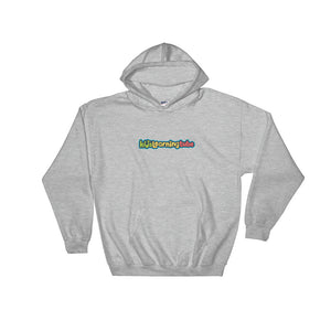 Kids Learning Tube Horizontal Logo Adult Unisex Hooded Sweatshirt