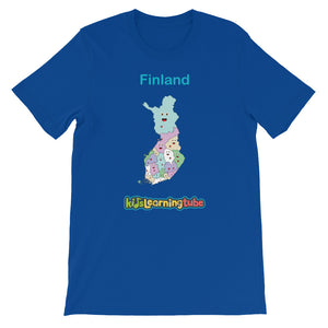 'Finland' Adult Unisex Short Sleeve T-Shirt