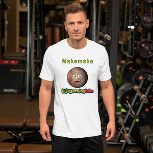 Makemake - Bella + Canvas 3001 Unisex Short Sleeve Jersey T-Shirt with Tear Away Label