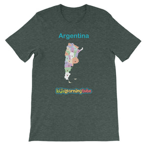 'Argentina' Adult Unisex Short Sleeve T-Shirt