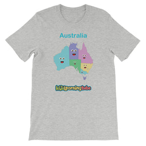 'Australia' Adult Unisex Short Sleeve T-Shirt