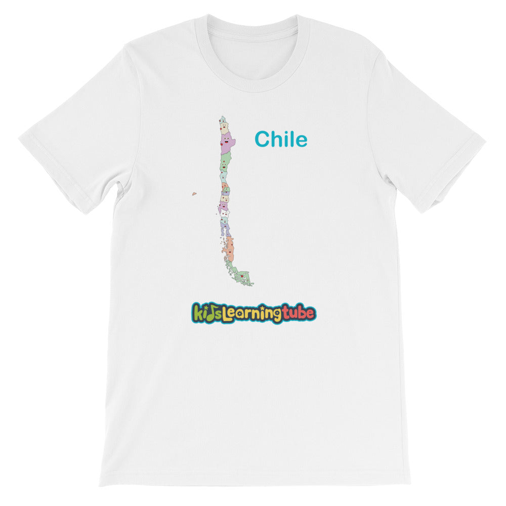 'Chile' Adult Unisex short sleeve t-shirt